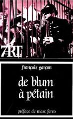De Blum à Pétain , cinéma et société française 1936-1944